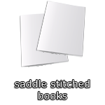 Saddle Stitched Books